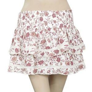 Denim & Supply Ralph Lauren Printed Smoked Skirt